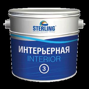 Интериор 3 (ВД-АК-202) - краска для потолков и стен
