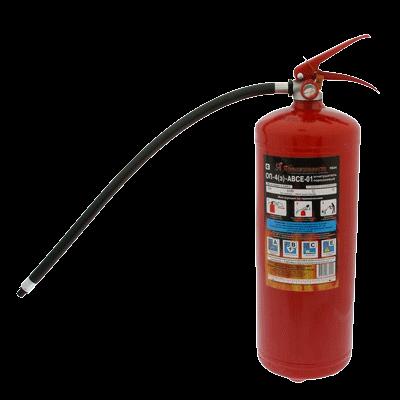 Огнетушитель порошковый ОП-4 (з) (А, В, С, Е)