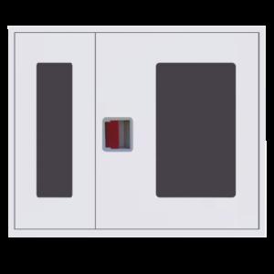 Шкаф пожарный ШПК 315 НОБ навесной, открытый, белый