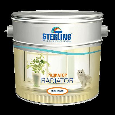 STERLING Радиатор краска для радиаторов (ПФ-116)