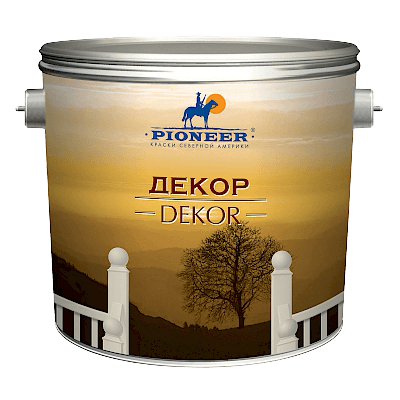 PIONEER декоративная штукатурка (ВД-АК-132)