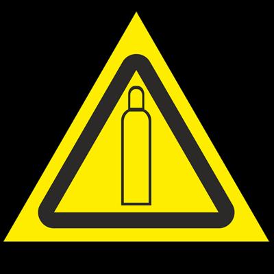 Знак - Газовый баллон W19