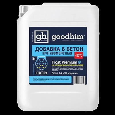 Комплексная противоморозная добавка для бетонов, эксплуатируемых при больших перепадах температур GOODHIM (Гудхим) FROST PREMIUM для теплого пола